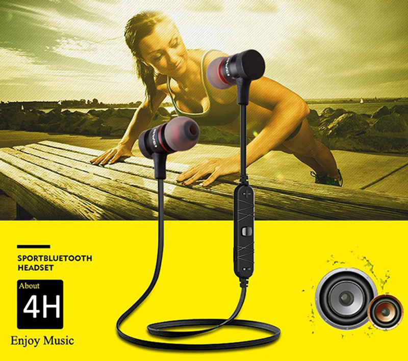 Awei A920BL Black Music Wireless Bluetooth Earphone
